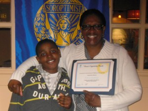 Soroptimist - 2014 Award Winner 1