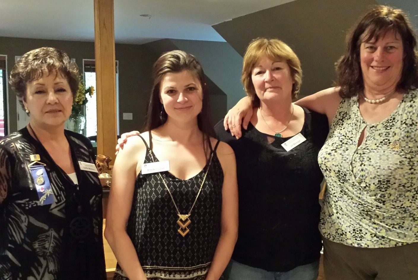 Left to right, Lydia, Bree, Jill and Jane